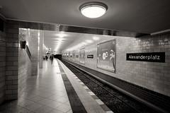 Alexanderplatz (awbaganz) Tags: berlin station metro alexanderplatz u5 xf1024