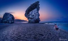 Playa-de-los-Muertos-(Carboneras) (dleiva) Tags: parque espaa de los spain cabo natural playa paisaje andalucia amanecer gata muertos andalusia crepusculo domingo almeria roca leiva carboneras dleiva