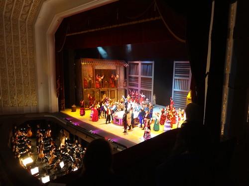 Weißrussland Belarus Minsk In Juni 2015 Oper Carmen von Georges Bizet