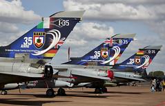 Tornados (Bernie Condon) Tags: tattoo plane flying italian display aircraft aviation military airshow german strike british bomber tornado ffd fairford ids riat panavia airtattoo ttte riat15