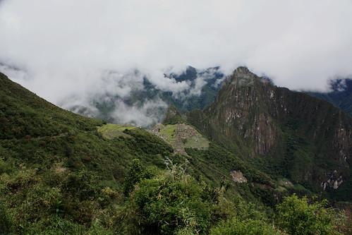 Outside of Machu Picchu