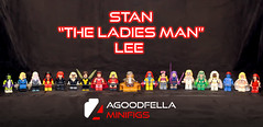 "Stan ""The Ladies Man"" Man [A DAY IN THE LIFE] [GROUP] (agoodfella minifigs) Tags: lego marvel marvellego legomarvel minifigures marvelcomics comics heroes stanlee stanthemanlee superheroes group marvelheroes legosuperheroes legomarvelsuperheroes legoxmen legoavengers legofantasticfour legospiderman shehulk invisiblewoman spidergwen spiderwoman blackwidow blackcat wasp scarletwitch msmarvel jeangrey jubilee psylocke dazzler polaris storm mystique emmafrost elektra"