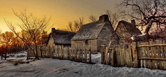 Plimoth Plantation (DeadDogsEye) Tags: plymouth400 plymouthmassachusetts400 plymouth pilgrims plimothplantation plimoth plantation sunrise sunset sky 1620 1627 hdr deaddogseye