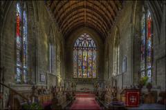 Olney Church Interior 5 (Darwinsgift) Tags: olney church buckinghamshire england pce nikkor tilt shift 24mm f35 nikon d810 hdr photomatix interior