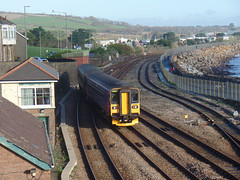 153318 & 153370 Penzance (11) (Marky7890) Tags: gwr 153318 class153 supersprinter penzance railway cornwall train 153370