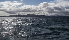 Muck ahead - 11 mile sail from Glunuig (tiggerpics2010) Tags: wayfarerdinghy smallisles easter scotland westernisles rum eigg muck