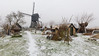 Too cold for Tourists in Kinderdijk (Wim Boon (wimzilver)) Tags: wimboon wimzilver holland nederland windmill kinderdijk canonef1635mmf4lisusm canoneos5dmarkiii