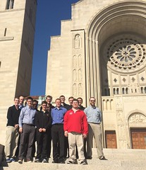 St. Mark Seminarians on pilgrimage to the Basilica of the National Shrine of the Immaculate Conception in Washington D.C. - November 2016