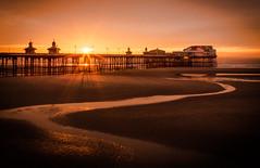 North Pier (rob of rochdale) Tags: pier blackpool northwestsundown sunset uk lancashire se seaside water landscape