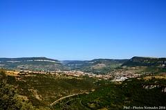 NKN_9326_GF (Phil-PhotosNomades) Tags: viaducdemillau viaduc aveyron occitanie midipyrénées valléedutarn pontàhaubans pont autoroutea75 a75 causserouge caussedularzac panorama eiffage massifcentral creissels france larzac