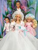 Barbie Ken wedding (alenamorimo) Tags: barbie barbiedoll barbiebride bridebarbie stacie todd doll