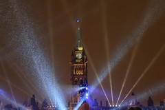 Parliament Hill NYE -7076 (RG Rutkay) Tags: canada newyearseve ottawa parliamenthill peacetower capital celebration sesquicentenial snow winter