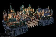 Blocks Mag: Harry Potter Hogwarts 01 (Agaethon29) Tags: lego afol legography brickography legophotography minifig minifigs minifigure minifigures toy toyphotography macro cinematic 2016 harrypotter blocksmagazine hogwarts