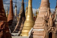 Stupas, Inle Lake (mgirard011) Tags: asie inlelake lieux myanmarbirmanie shan mm