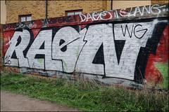 Raen (Alex Ellison) Tags: raen wg northlondon urban trackside graffiti graff boobs
