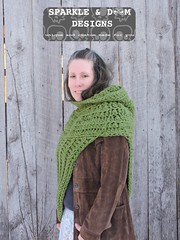 HuntressCowlHooded05b (zreekee) Tags: crochet sparkledoomdesigns saskatchewan mammadiy katniss hungergames