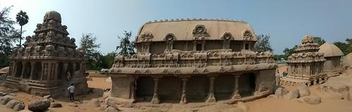 Five Ratha's@Mamallapuram