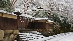 Kyoto Yase Ruriko-in (maco-nonch★R(on/off)) Tags: kioto kyoto yase rurikoin 京都 八瀬 八瀬大原 瑠璃光院 gate 門 雪 大雪 snow snowy