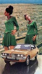 Going Twice (Keysgoclick) Tags: collage surreal vintage retro car woman fashion surrealism surreal42