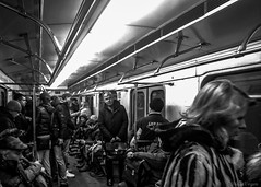 Commuters #2 (Voyen_Ras) Tags: urban blackwhite daily job life transport metro moscow travel explore people move public group underground city commuters grey survive cityscape photography flickr street