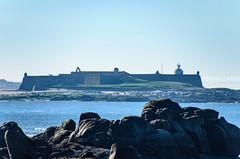 A Insua (Antonio Lomba) Tags: insua portugal esteiro estuario foz castillo fortaleza miño oceano desembocadura atlantico atlantic ocean castle caminha guarda