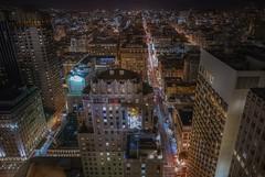Another view (karinavera) Tags: travel sonya7r2 sanfrancisco night urban street skycrapers star aerial cityscape longexposure view city