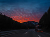47- February 16  2017 - Burning highway (Kristoffersonschach) Tags: highway sunset 365the2017edition 3652017 day47365 16feb17