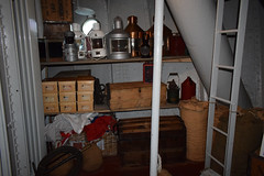 SS Nomadic, Belfast (John D McDonald) Tags: nomadic ssnomadic ship steamship whitestarline whitestar titanic olympic harlandandwolff harlandwolff hw shipyard belfastshipyard hamiltondock hamiltondrydock hamiltongravingdock queensisland ballymacarrett ballymacarret eastbelfast belfast titanicquarter countydown codown northernireland ni ulster geotagged lamp lamps oillamp oillamps ladder