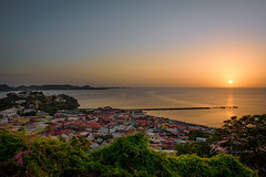 St. George's Sunset (Andy Johnson Photos) Tags: sunset views caribbean grenada paradise