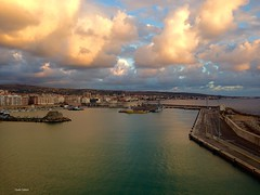 Civitavecchia (clauspap) Tags: sunset clouds porto civitavecchia