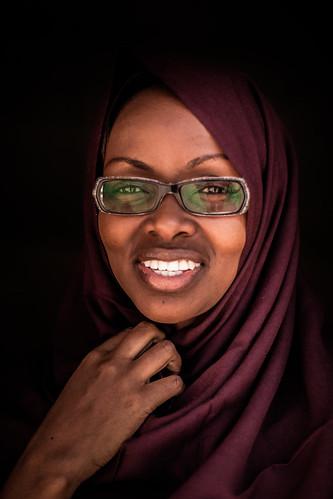 Beautiful lady portrait, Somaliland