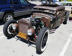 Stones Pig-1930 Ford (bballchico) Tags: ford rusty hotrod pinstripe patina 1930 thegarage ratrod laquerida carsonthestreet stonespig