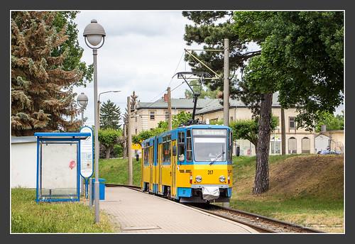 Tw 317 der Thüringer Waldbahn, 09.06.2015