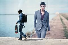 binnenwegplein - rotterdam (Gerard de Boer) Tags: street hat rotterdam candid backpack straat cigaret hoedje rugzak binnenwegplein gallgall voorbijganger megafoto