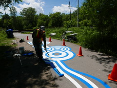 A-June2015 389 (PanAmPath.org) Tags: river for singing native earth x roadsworth june2015