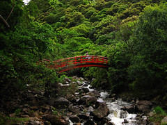 (-Michik-) Tags: bridge mountains nature japan stone river temple japanese freedom stones kobe nippon   nihon satori michiko    nihonjin       michik taisanji sanshinzan
