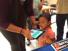 Testing Hidatsa Vocab Builder with the young ones!