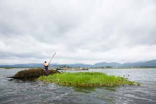 Floating Gardens Maker on Inle Lake