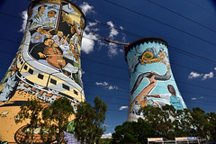 Orlando Towers, Soweto, Gauteng, South A by South African Tourism, on Flickr