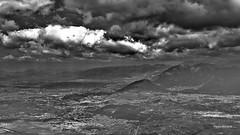 The valley below (RoyBatty83) Tags: penta pentaxk5 k5 kitlenses pentaxda1855wr pentaxiani pentaxda1855alwr 1855 da1855wr tappo tappowr valletelesina sannio montagna nuvo nuvole trekking hiking blackandwhite bw biancoenero blackwhite bn