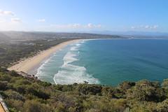 Plattenburg Bay, Seen from Robberg Nature Resreve (benyeuda) Tags: gardenroute southafrica africa robberg robbergnaturereserve naturereserve plattenbergbay scenic coastal beautifulplace