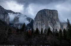 El Capitan, Yosemite (NormFox) Tags: california clouds cold colors elcapitan fog landscape mountains national outdoor park smow trees valley winter yosemite