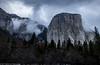 El Capitan, Yosemite (NormFox) Tags: california clouds cold colors elcapitan fog landscape mountains national outdoor park smow trees valley winter yosemite
