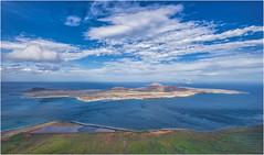 La Graciosa (marypink) Tags: lanzarote canaryislands canarie arcipelagodichinijo miradordelrio lagraciosa panorama belvedere sky clouds sea nikond800 nikkor1635mmf40