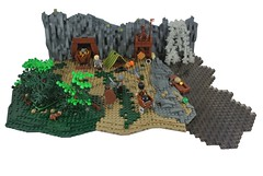 The Tourney - R1 - This Mine is Mine (-Balbo-) Tags: lego moc tourney bauwerk balbo creation