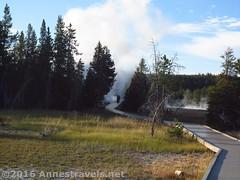 Boardwalk near Grotto Geyser (Annes Travels) Tags: yellowstone wyoming uppergeyserbasin geysers geothermal