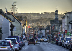 Early morning in Chard, Somerset (Baz Richardson (catching up again!)) Tags: somerset chard forestreetchard streetscenes southsomerset englishtowns a30