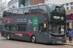 National Express West Midlands Alexander Dennis Enviro400 MMC 6833 (SN66 WFB) (Birmingham Central) 'Onyinyechi' (john-s-91) Tags: nationalexpresswestmidlands alexanderdennisenviro400mmc 6833 sn66wfb solihull routex2