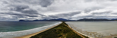 the other side of the sea (Keith Midson) Tags: brunyisland tasmania dentrecasteaux channel neck tasman sea ocean clouds sand dunes dune