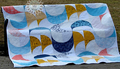 Moonlight quilt. (Gosia @ Quilts My Way) Tags: quilt quilting patchwork pattern quiltsmyway moda fabrics modern